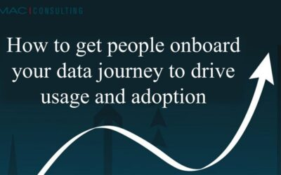 How to get people onboard your data journey to drive usage and adoption