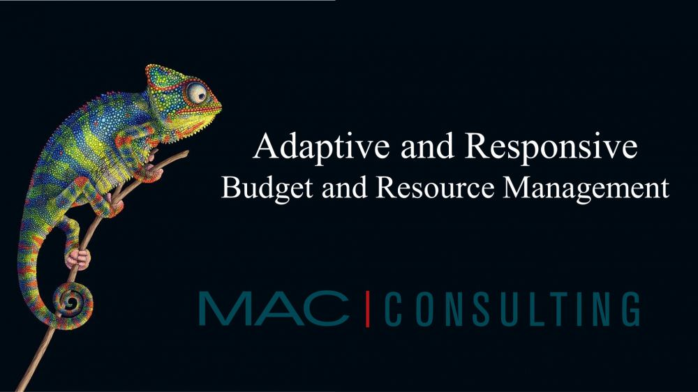 Part 2 of 3: Adaptive and Responsive: Budget and Resource Management