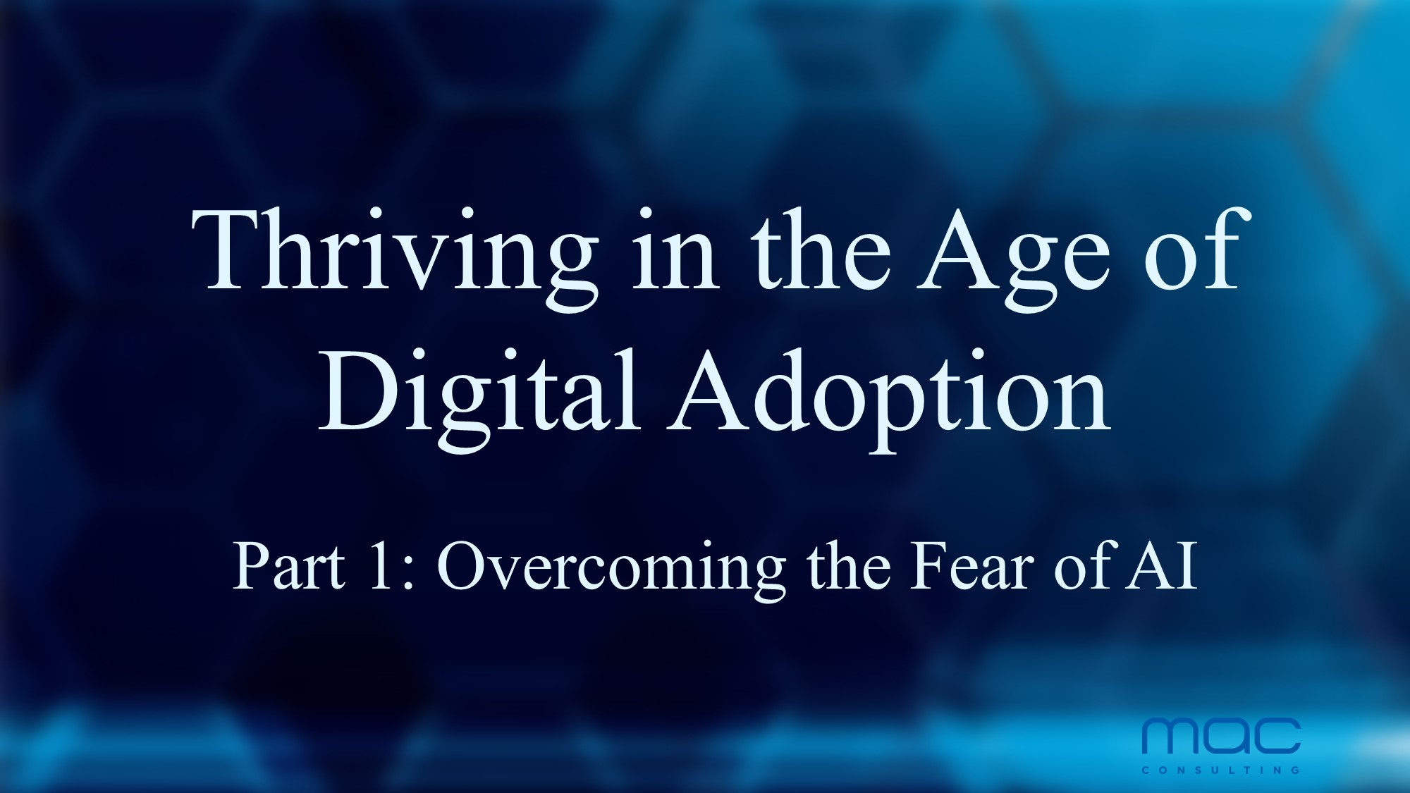 Thriving in the Age of Digital Adoption