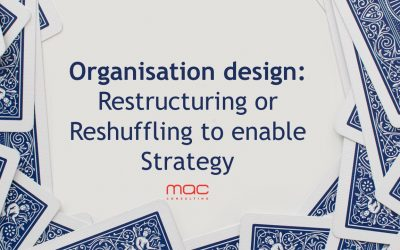 Organisation Design: Restructuring or Reshuffling to enable Strategy
