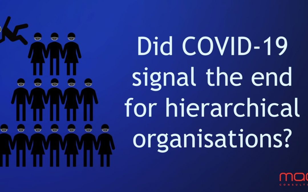Culture PART 1: Did COVID-19 signal the end for hierarchical organisations?